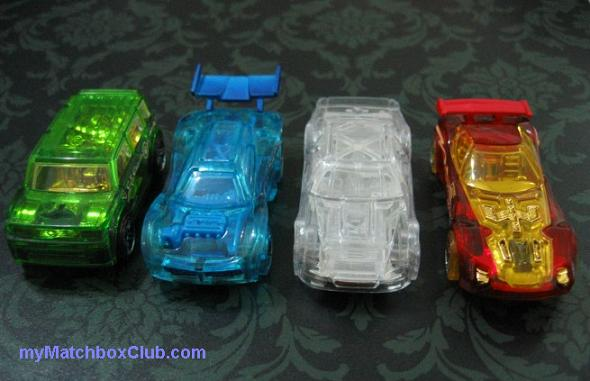 2010 HotWheels Race World Earth, Completed Set