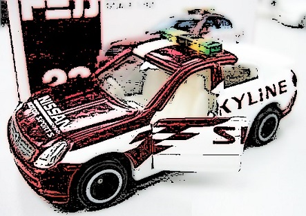 TOMY-Tomica-Nissan-Skyline-Safety-CAr-myhotwheelsclub