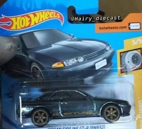 Hot-Wheels-Super-Treasure-Hunt-Nissan-Skyline-GT-R-R32-Loose-Riveted-carded